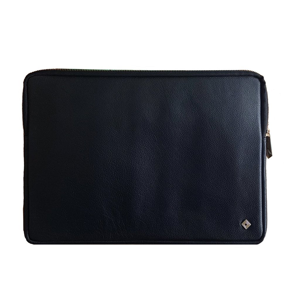 Vegan - Laptop Case - SALE - Jennifer Hamley luxury leather handbags and laptop bag for working women