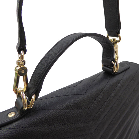 Lilian Grande Convertible Handbag / Backpack - SALE - Jennifer Hamley luxury leather handbags and laptop bag for working women