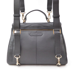 Lillian Grande convertible handbag/backpack - Jennifer Hamley luxury leather handbags and laptop bag for working women