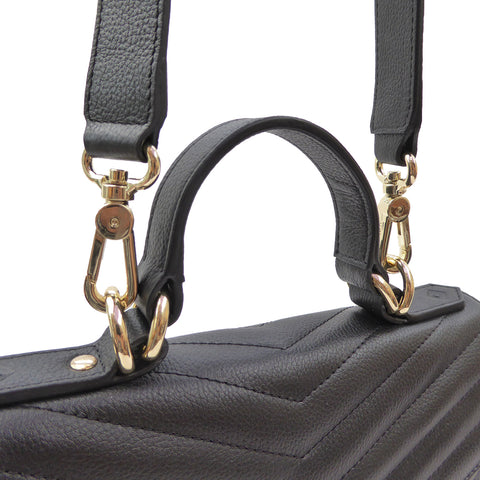 Lilian Petite Handbag | vegan - SALE - Jennifer Hamley luxury leather handbags and laptop bag for working women