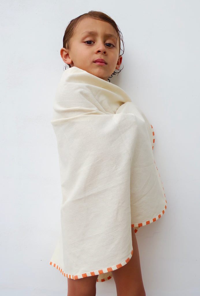 Baby Swaddle and Hooded Towel Set