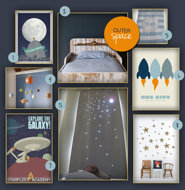 Outer Space Kid's Room Revamp!