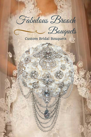 Elegant Brooch Bouquet