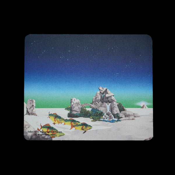 TALES OF TOPOGRAPHICAL OCEANS MOUSE MAT