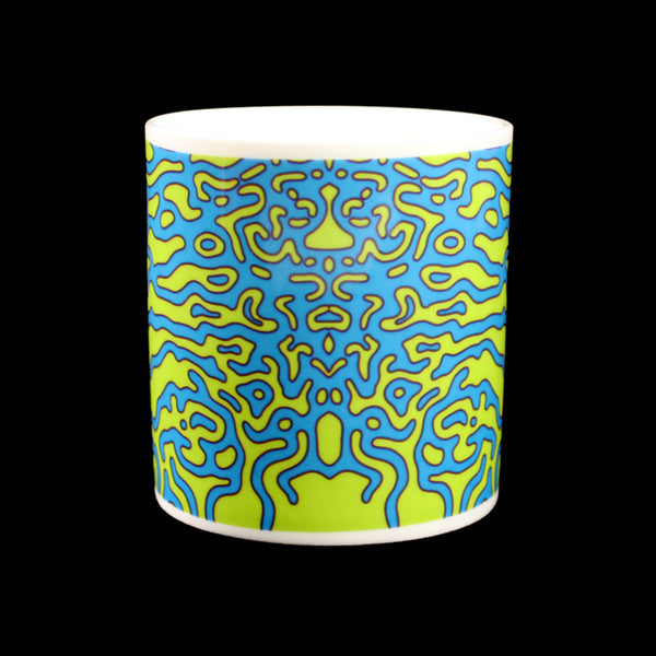 ANGEL WINGS MUG (GREEN/BLUE)