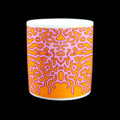 ANGEL WINGS MUG (ORANGE/PINK)