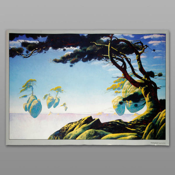 Floating Island Poster (59x86cm)