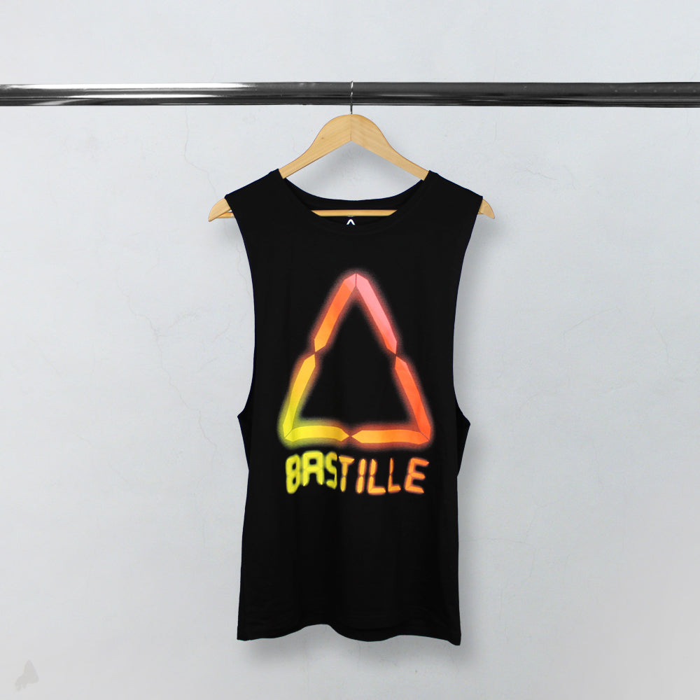 LCD SUMMER LOGO BLACK TANK TOP