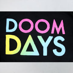 RAINBOW DOOM DAYS BLACK LONGSLEEVE