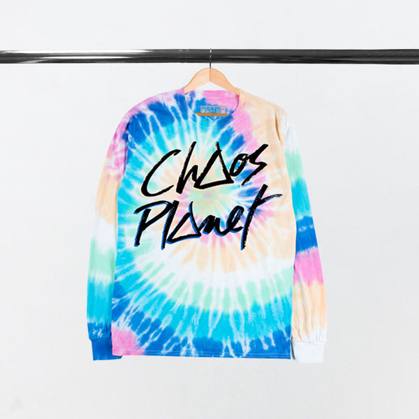 CHAOS PLANET L/SLEEVE T-SHIRT