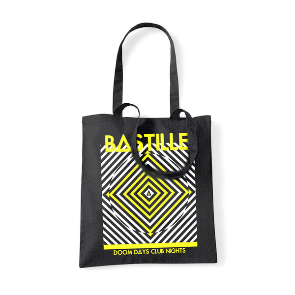 DD CLUB NIGHTS BLACK TOTE