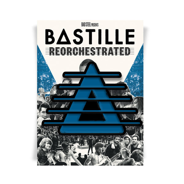 BASTILLE REORCHESTRATED ENAMEL PIN