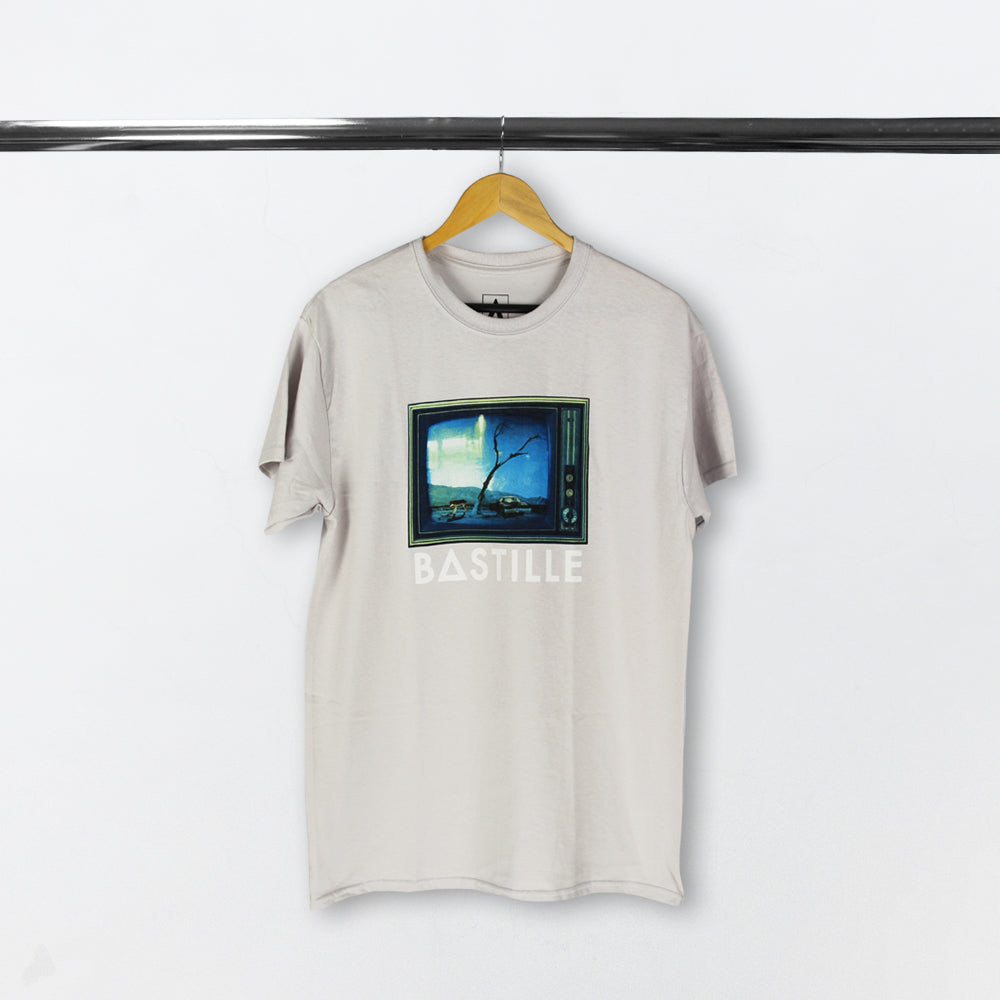 REORCHESTRATED TV 2018 LIGHT GREY T-SHIRT