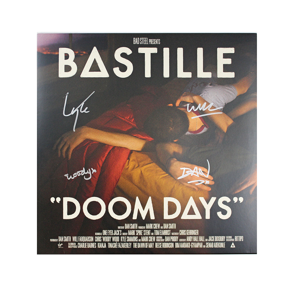 DOOM DAYS VINYL LP-SIGNED