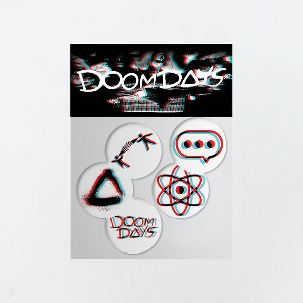 DOOM DAYS BADGE SET