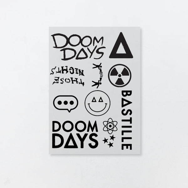 DOOM DAYS TATTOO SET