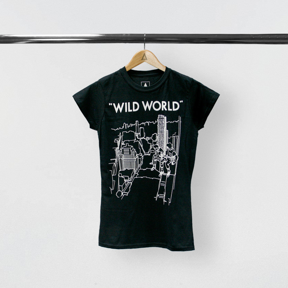 WILD WORLD WOMEN BLACK 2016/17 UK&EU TOUR TEE