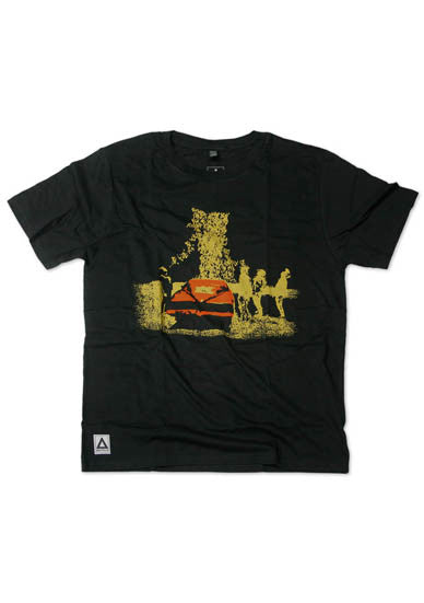 BASTILLE BLACK MENS CAR T-SHIRT