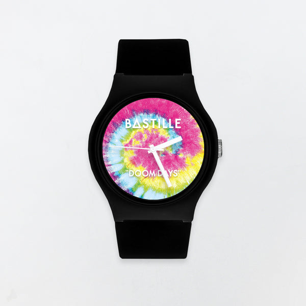 TIE DYE BLACK WATCH