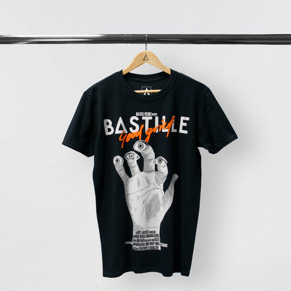 BASTILLE BLACK GOOD GRIEF T-SHIRT