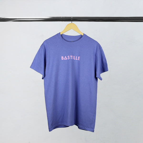 SAT PURPLE LOGO T-SHIRT