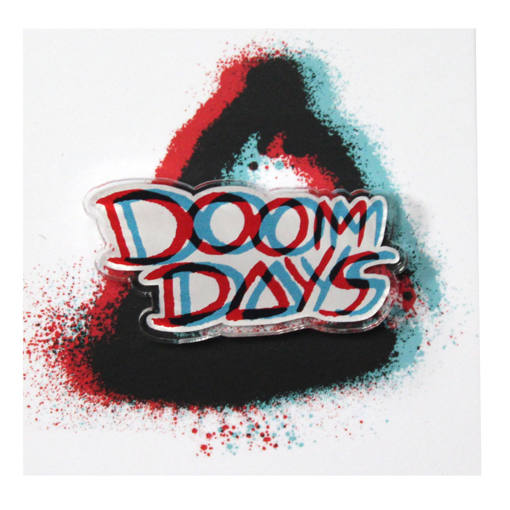 DOOM DAYS EPOXY PIN