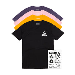 LOGO EVOLUTION T-SHIRT & STICKER SET