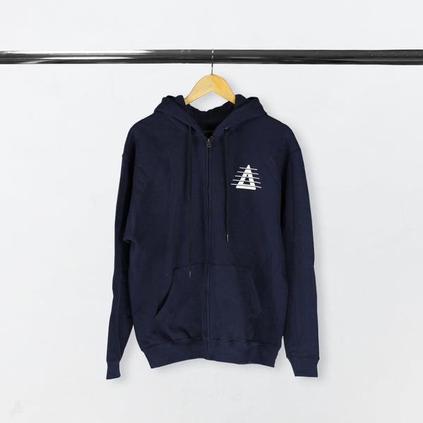 REORCHESTRATED TV 2018 NAVY ZIP HOODIE