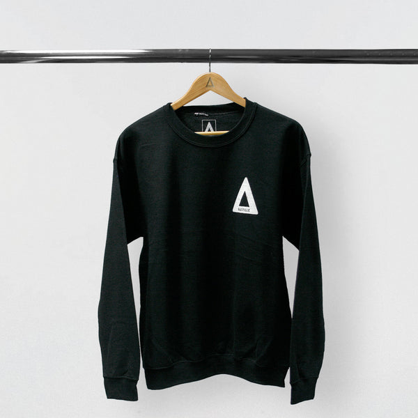 """WILD WORLD"" BLACK SWEATSHIRT"