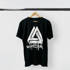 WWCOMMS TRIANGLE BLACK TOUR T-SHIRT
