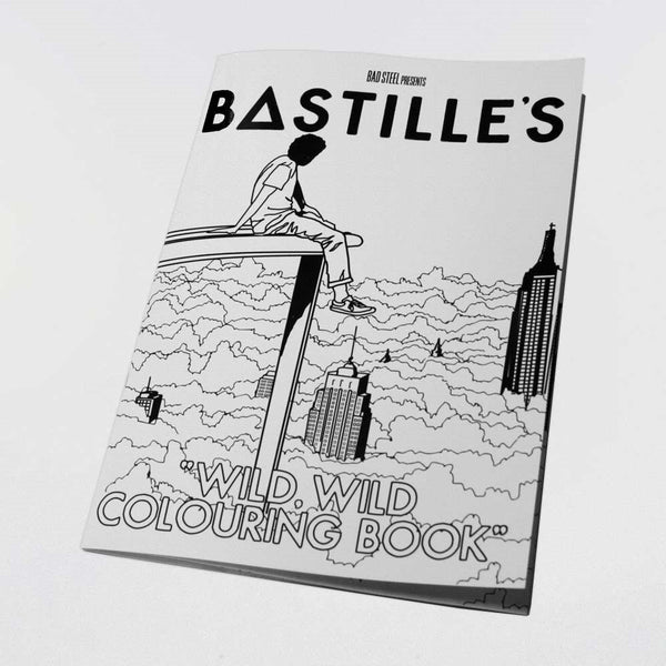 BASTILLE COLOURING BOOK