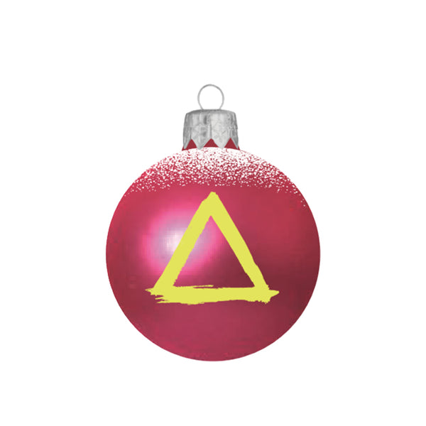 BASTILLE PINK SNOW BAUBLE