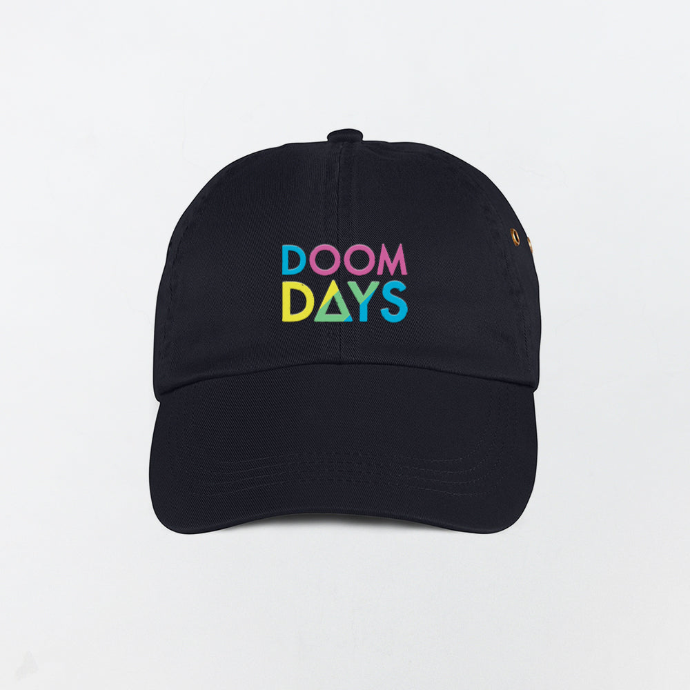 DOOM DAYS BLACK DAD CAP