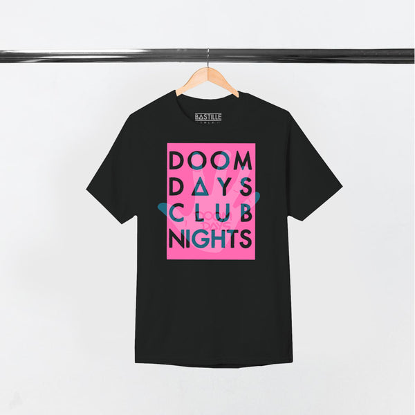 DD HAND CLUB NIGHT BLACK T-SHIRT