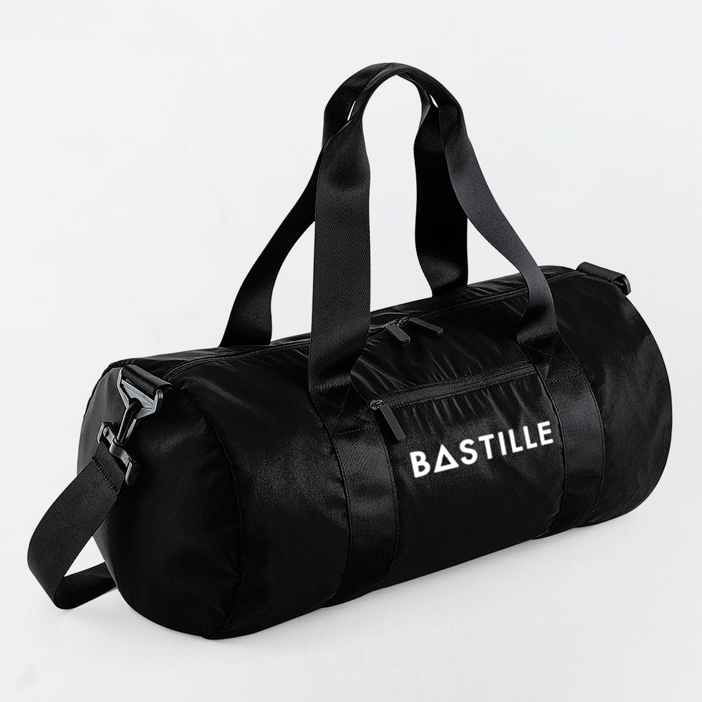 BASTILLE LOGO BLACK GYM BAG