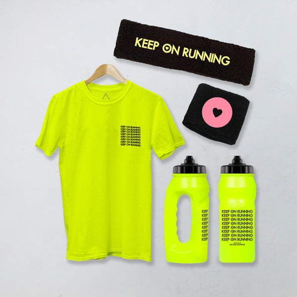 ULTIMATE KEEP ON RUNNING BUNDLE LUMO T-SHIRT