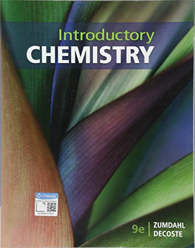Textbook: Introductory Chemistry (9th Edition) by DeCoste, Donald J.