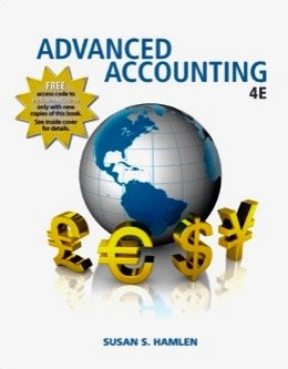 Textbook: Advanced Accounting (4th Edition) by Susan S. Hamlen