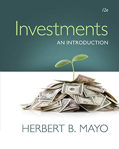 Textbook: Investments: An Introduction (with Stock-Trak Coupon) by Mayo, Herbert B.