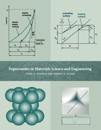 Textbook: Experiments in Materials Science and Engineering (1st Edition) by Tariq A. Khraishi