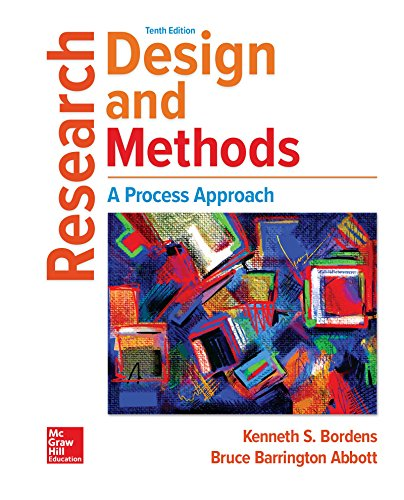 Textbook: Research Design and Methods (Loose Leaf) (10th Edition) by Kenneth S Bordens