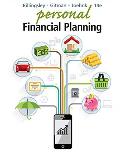 Textbook: Personal Financial Planning by Joehnk, Michael D.