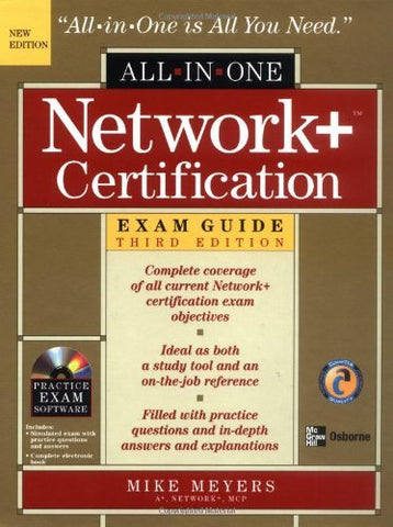 Textbook: Network+ Certification All-in-One Exam Guide (3rd Edition) by Meyers, Mike
