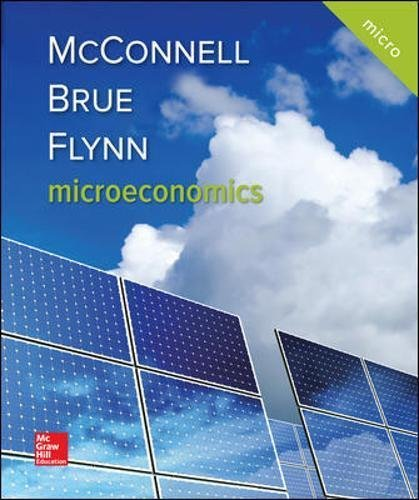 Textbook: Microeconomics (21st Edition) by Campbell R. McConnell