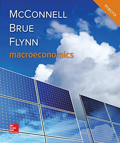 Textbook: Macroeconomics (21st Edition) by Campbell R. McConnell