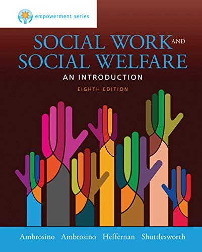 Textbook: Empowerment Series: Social Work and Social Welfare by Ambrosino, Robert