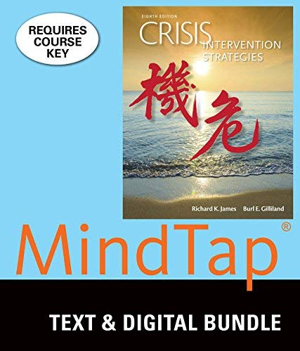 Textbook: Crisis Intervention Strategies (8th Edition) by James, Richard K.