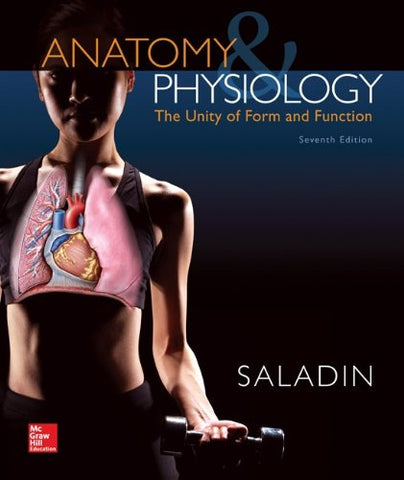 Textbook: Anatomy & Physiology: The Unity of Form and Function (7th Edition) by Kenneth S. Saladin