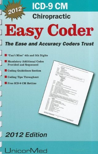 Textbook: ICD-9-CM Easy Coder: Chiropractic (1st Edition) by Tanaka, Paul K.