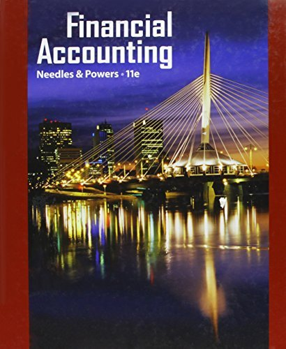 Textbook: Financial Accounting (11th Edition) by Belverd E. Needles